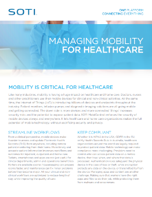 Managing Mobility for Healthcare TOUGHBOOK brochure