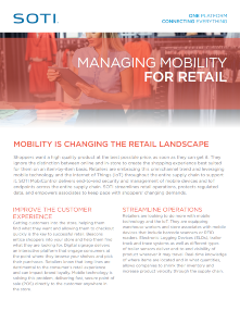 Managing Mobility for Retail TOUGHBOOK brochure
